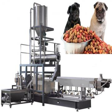 Automatic Floating Fish Feed Extruder Production Line / Fish Feed Machine Price / Small Dog Food Machine
