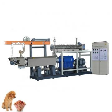 Automatic Double Screws Dog Food Animal Feed Processing Extrusion Equipment