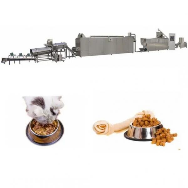 Industrial Extruded Pedigree Dog Animal Food Cat Petfood Production Projects Plant Processing Line Extrusion Machine for Sale