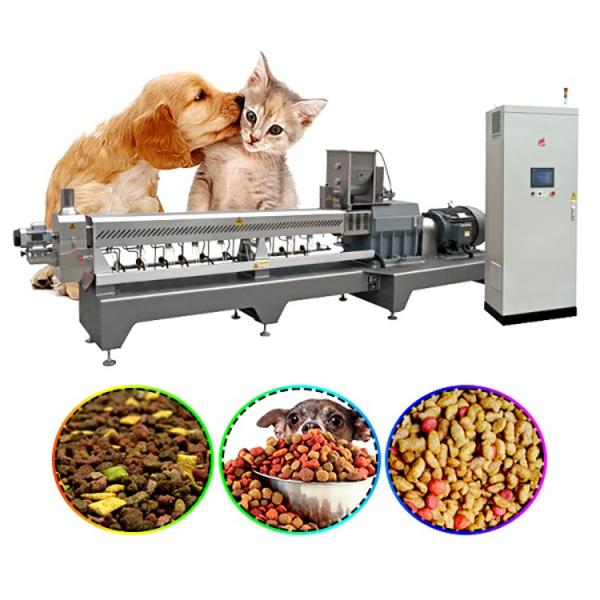 Dry Pet Food Processing Machine Dog Food Cat Food Production Machinery